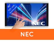 touchscreens van NEC