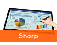 touchscreens van sharp